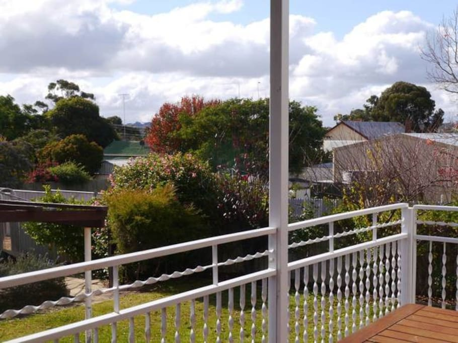 decking overlooking country side