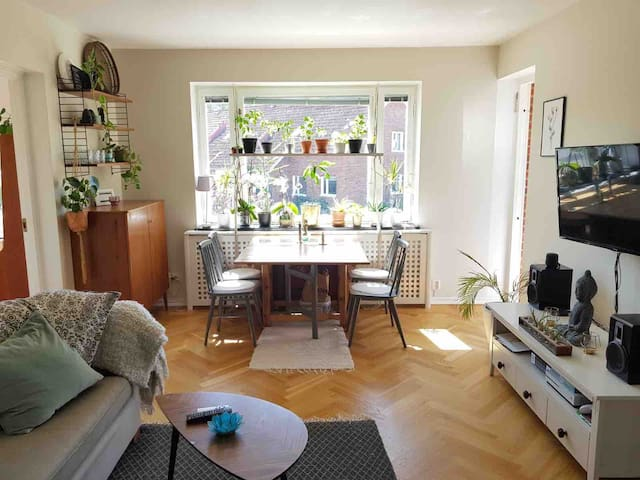 Spacious apartment next to forest