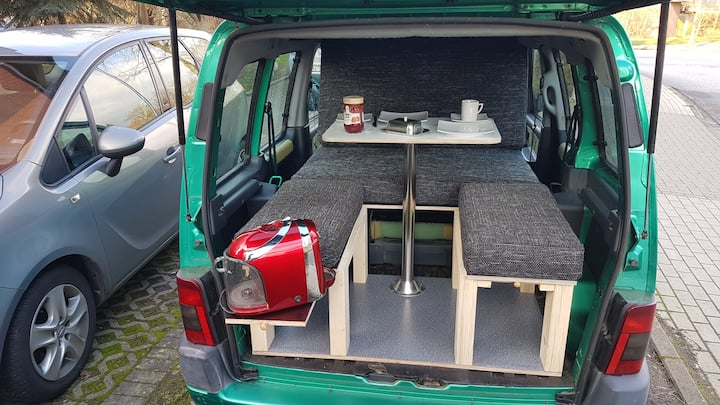Campingbox für Hochdachkombi VW Caddy, etc.