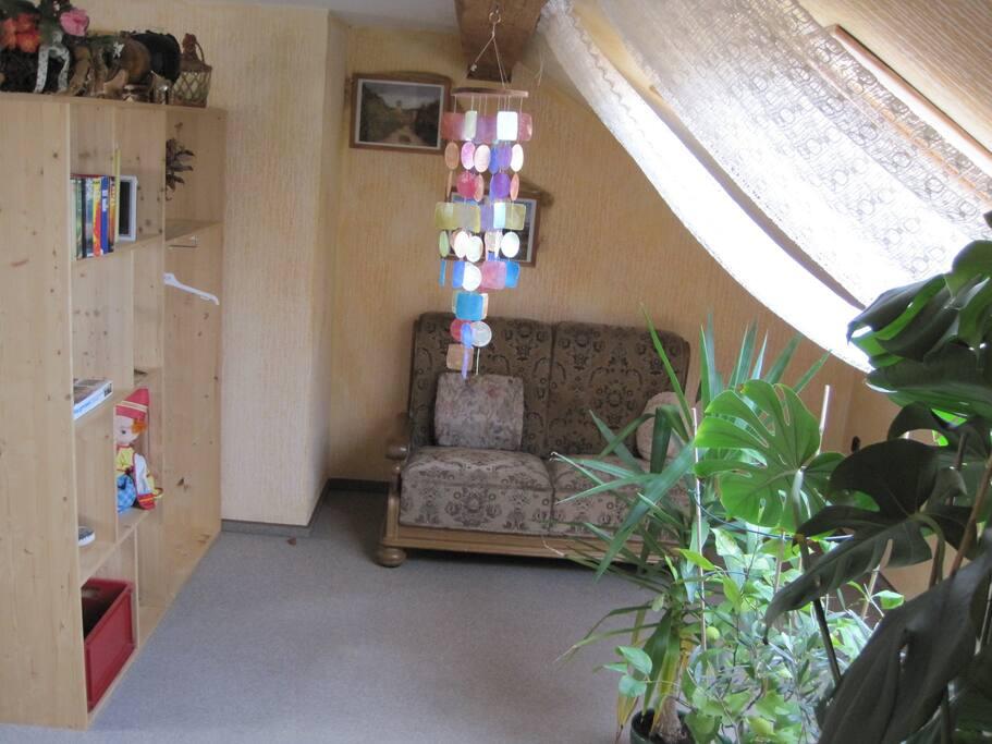 Wohnzimmer Leseecke