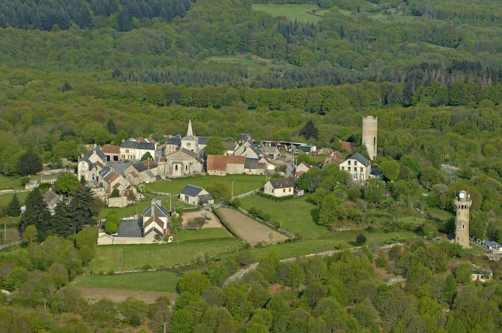 Petit Paradis - Toulx-Sainte-Croix - Hus