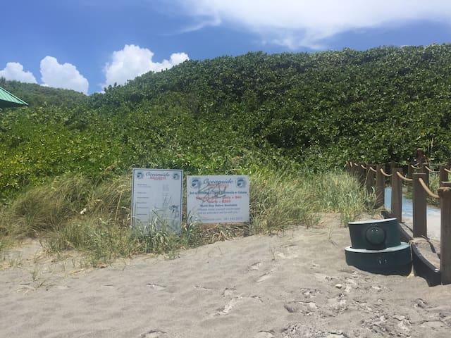 Oceanside beach side service