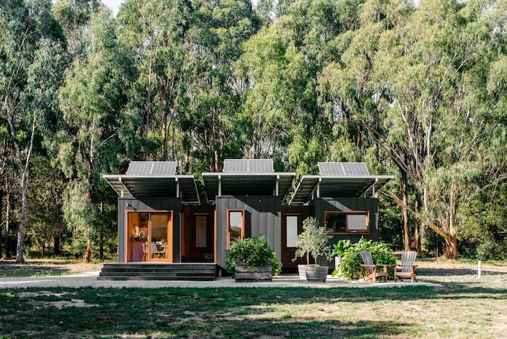 Shipping Container Conversion in the bush
