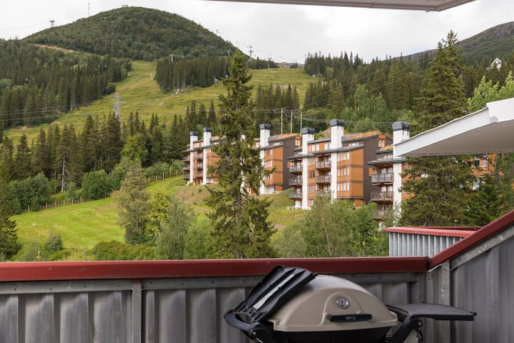 Exquisite Apartment w. Gorgeous Views · Ski-in/out