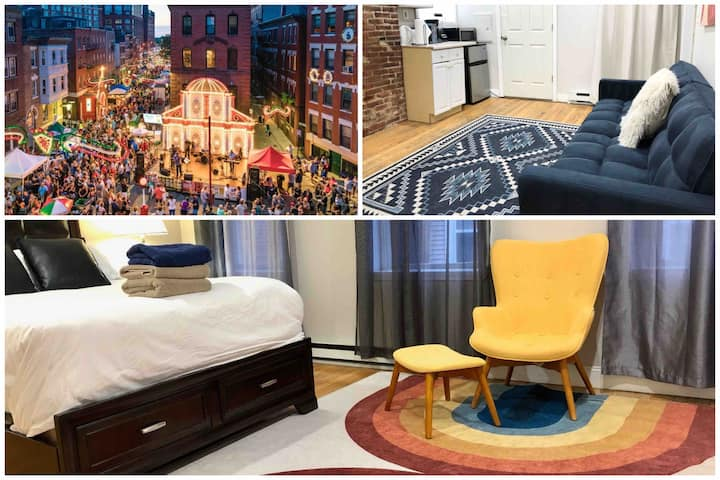 ★ Little Italy Historic Suites | Walk to Sites H4