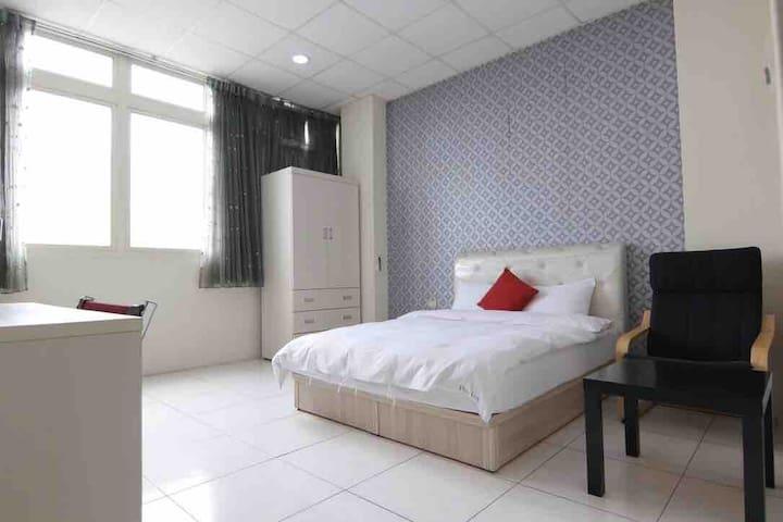 Taichung Plus Inn - 雙人房, 逢甲夜市步行1分鐘