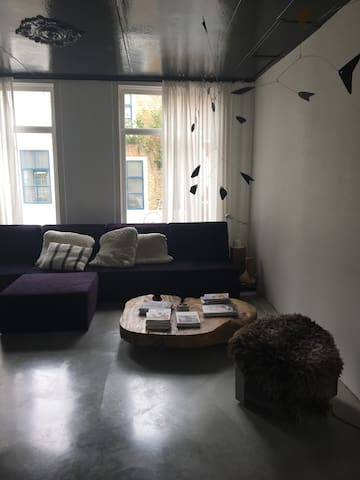 Zitgedeelte voorkant woonkamer