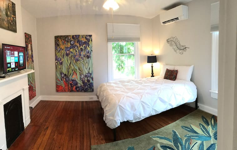 Van Gogh Themed Room in Historic Home