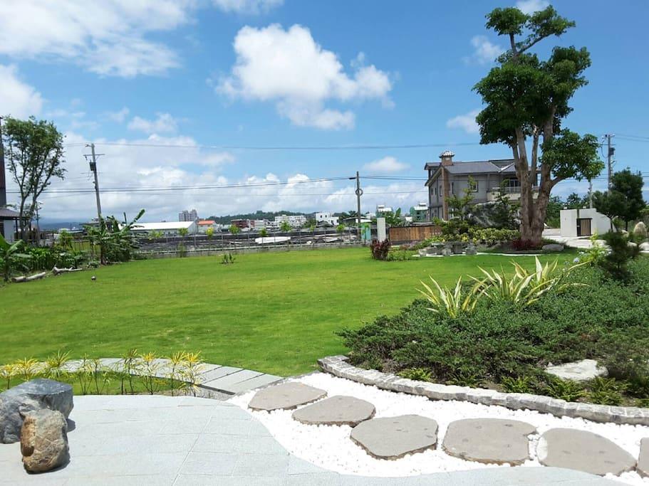 庭園草地區