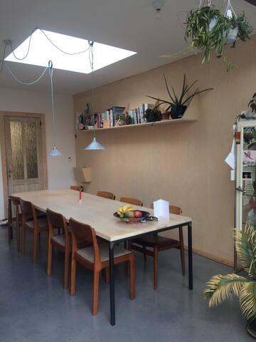 spacious, luminous  kitchen