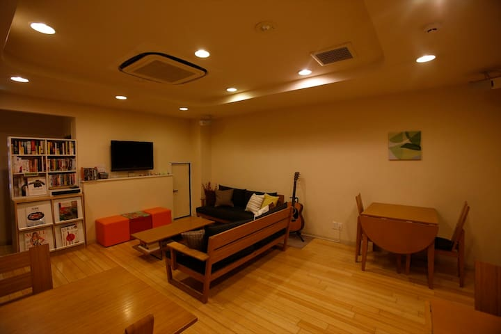 Close to Hiroshima Sta.-Bunk bed twin ensuite
