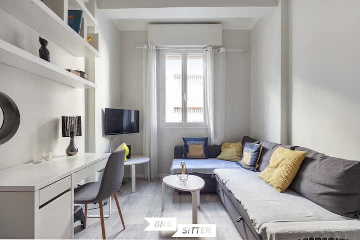 ★ Beautiful apartment in the heart of Nice
