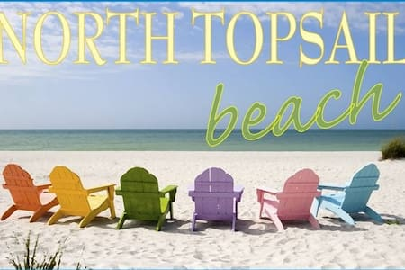 Oceanfront, Cute as a Button - North Topsail Beach - (ไม่ทราบ)