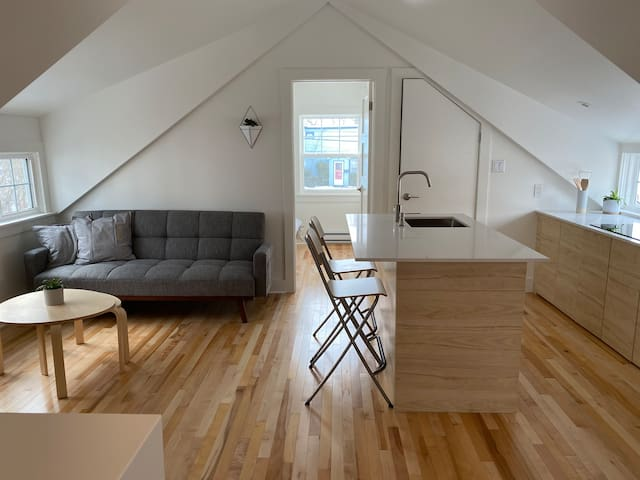 Beautiful Loft Apartment  Downtown Dartmouth