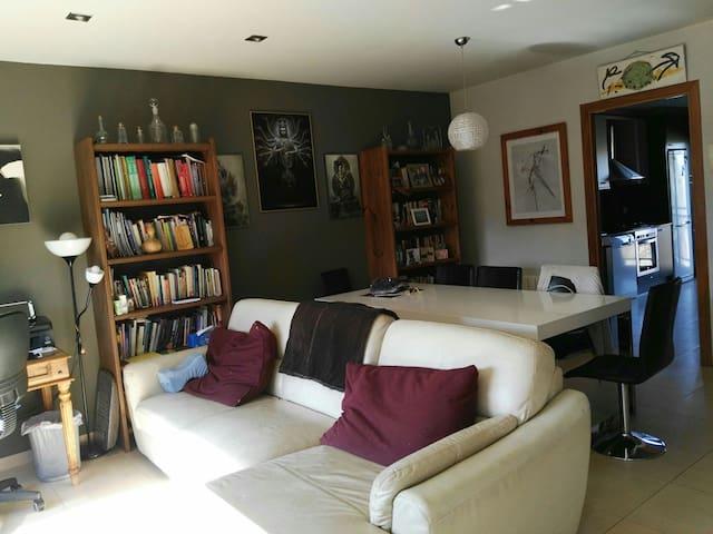 Habitación doble en Sant Joan les Fonts. - Sant Joan les Fonts-Olot - House