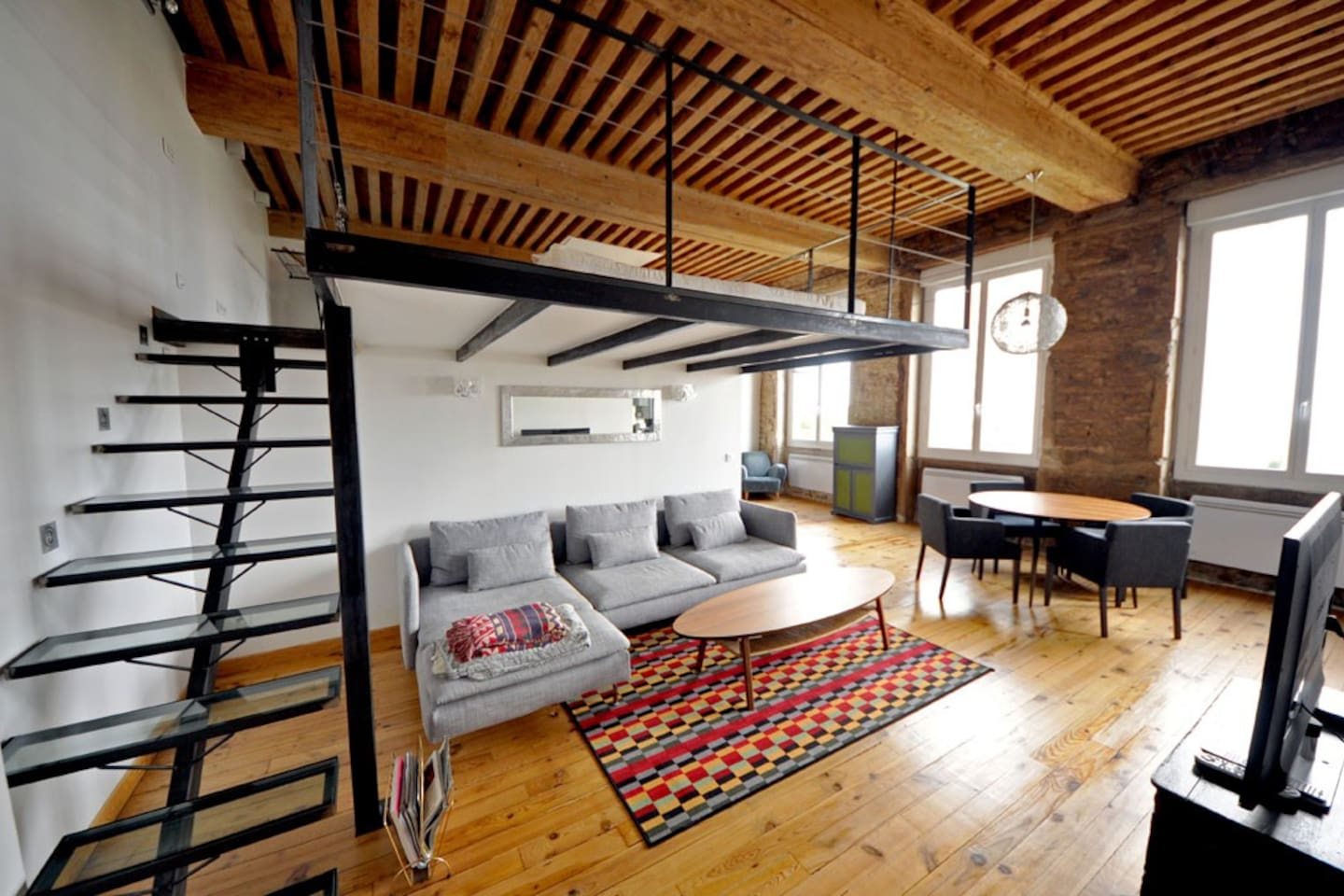 Loft Canut in the croix rousse area - Lofts for Rent in Lyon, Rhône ...