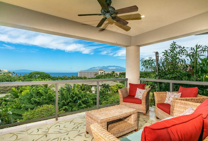 Ocean Views & Beautifully decorated! Ho'olei 21-3