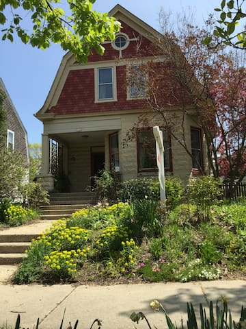 Updated historic home in Milwaukee's East Side