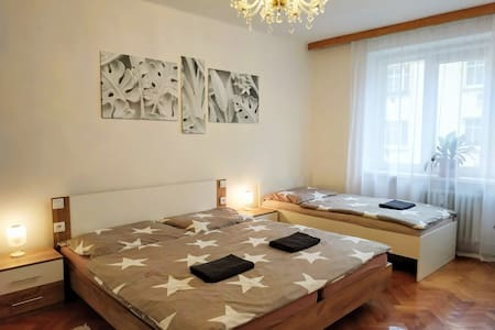All you need in Decin-5 bed apt Garage&Balcony
