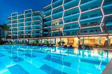 Hexa Panora 1 + 1, Alanya  - Antalya - Huoneisto