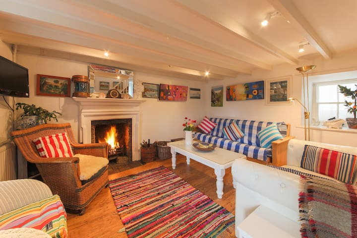 Beautiful Rose Cottage - Cornwall - Huis