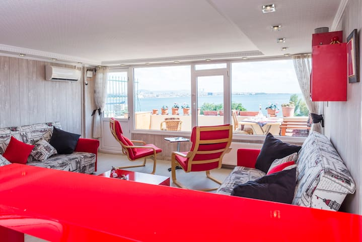 sultanahmet apartment with sea view - Istanbul - Huis