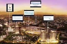 Abreeza Ayala Business Park. Condo is located on Abreeza Place Tower 1