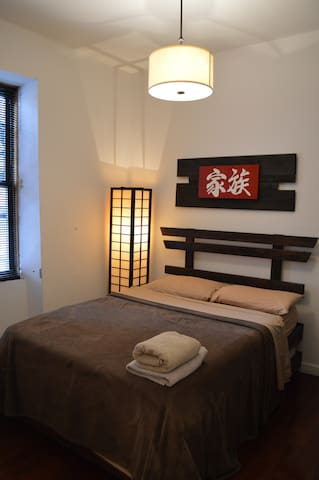 Oriental Room in Upper Manhattan near Central Park