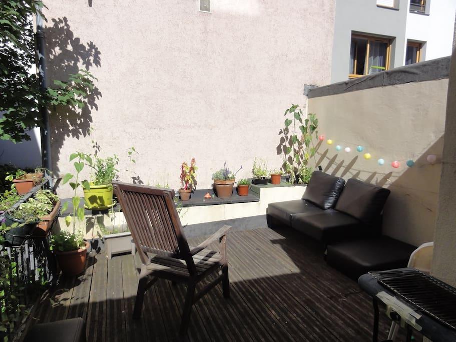 Chambre calme dans une maison avec terrasse maisons for Restaurant avec terrasse ile de france