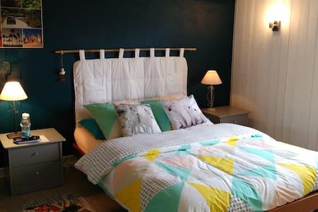 Chambre hôte ou appartement complet dans cottage.