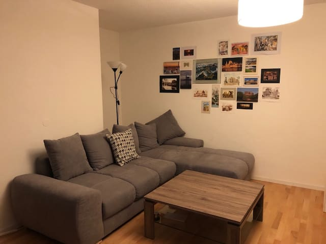 Small room in cozy appartment
