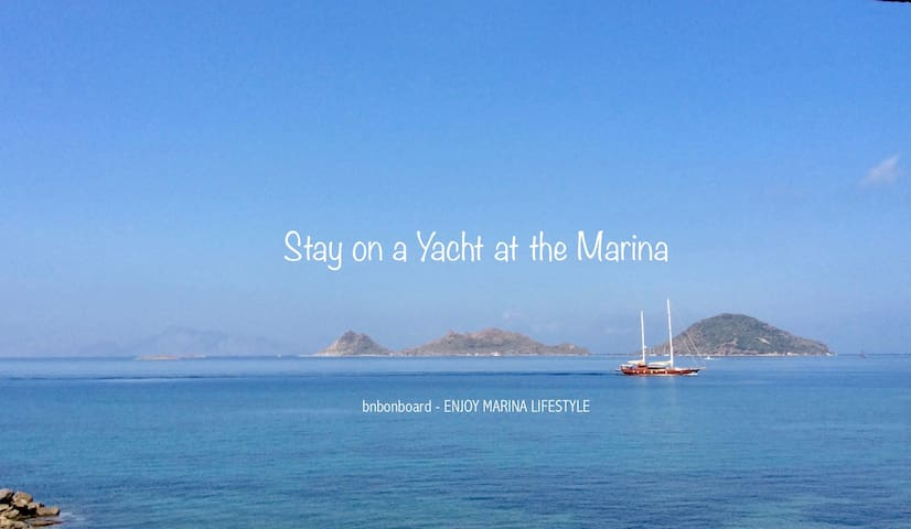 BnB onboard: be different & enjoy marina lifestyle - Turgutreis - Tekne