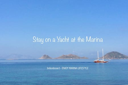 BnB onboard: be different & enjoy marina lifestyle - Turgutreis - Πλοίο