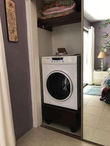 The second dryer really helps laundry get done faster