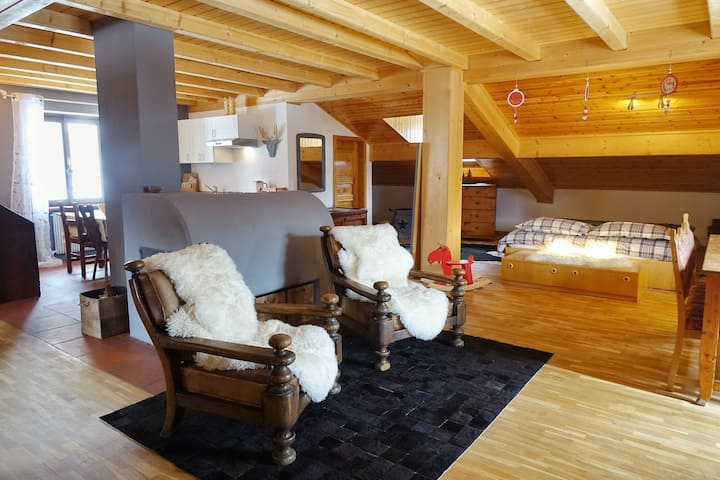 Ália Home 3 / Mansarda Dolomiti