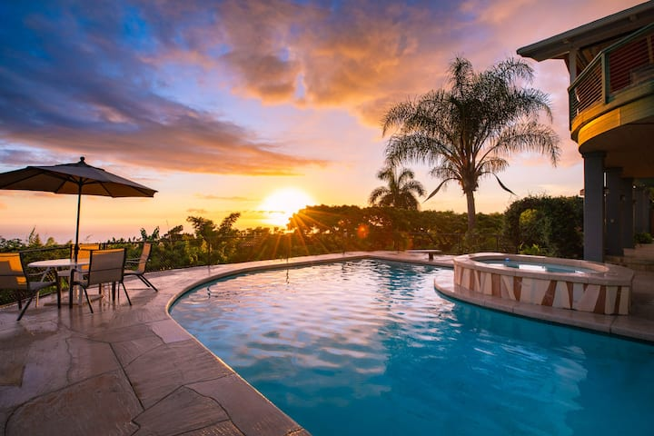 Private Pool - 180° Ocean View - Minutes to Beach