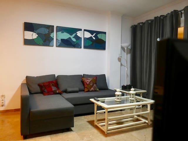 Moderno y limpio apartamento en el Puerto de Jávea