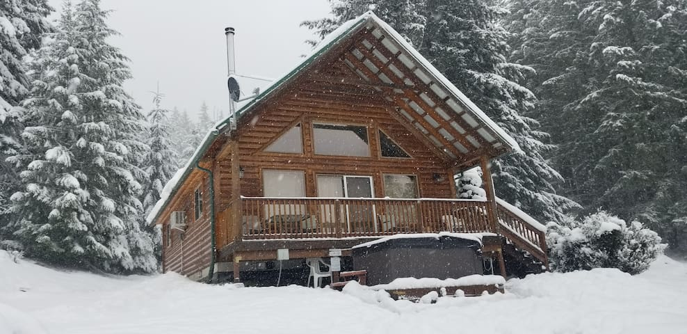 Popular Mt View Cabin, New Hot Tub, Ski White Pass