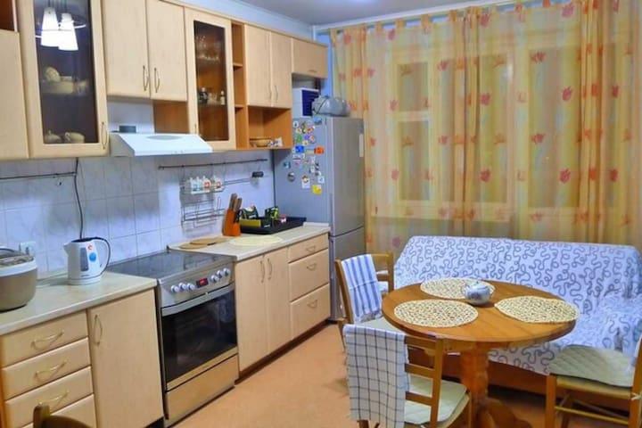 Уютная квартира с отличным видом - Dolgoprudnyy - Apartment