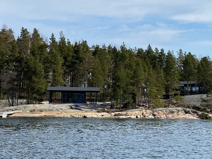 Archipelago experience on an island - new Villa.