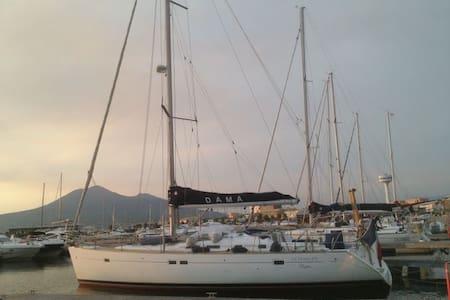 SAILING BOAT IN NAPLE'S BAY - Castellammare di Stabia - 船