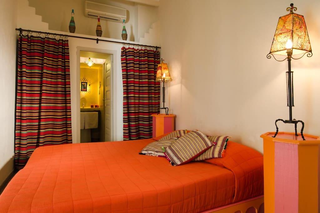 """chambre standard """"Rififi"""" lit double"""