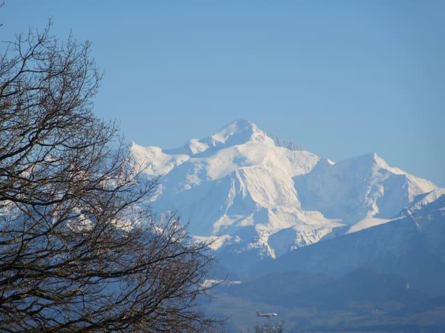 Proche  Genève, idéal expatriés.