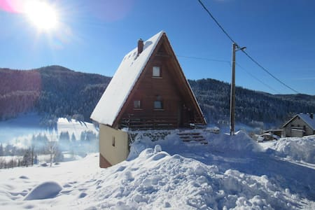 Holiday House Vrh K1 - Ravna Gora - 别墅