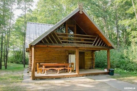 Дом с русской баней в 22 км от Гродно