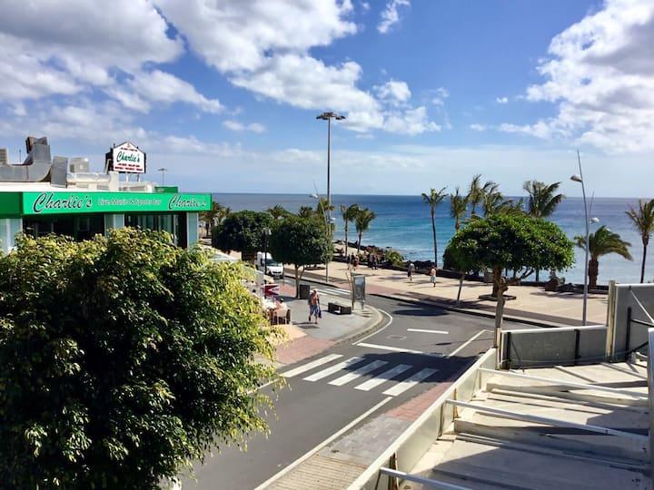 Central Puerto del Carmen just off the Beach walk.