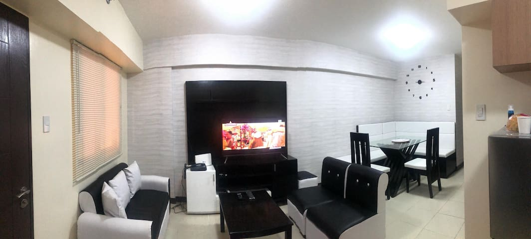 Fully furnished 2br condo w/ 100mbps WiFi &Netflix