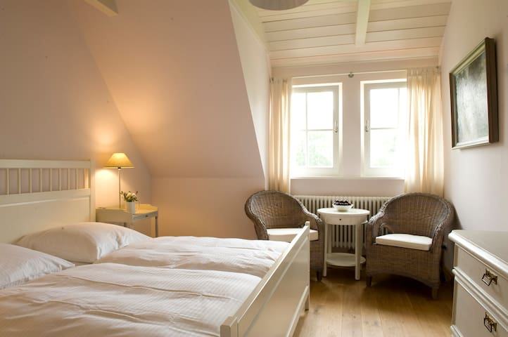 Ferienhaus mit Sauna und Kamin 5 * - Krienke - Huis