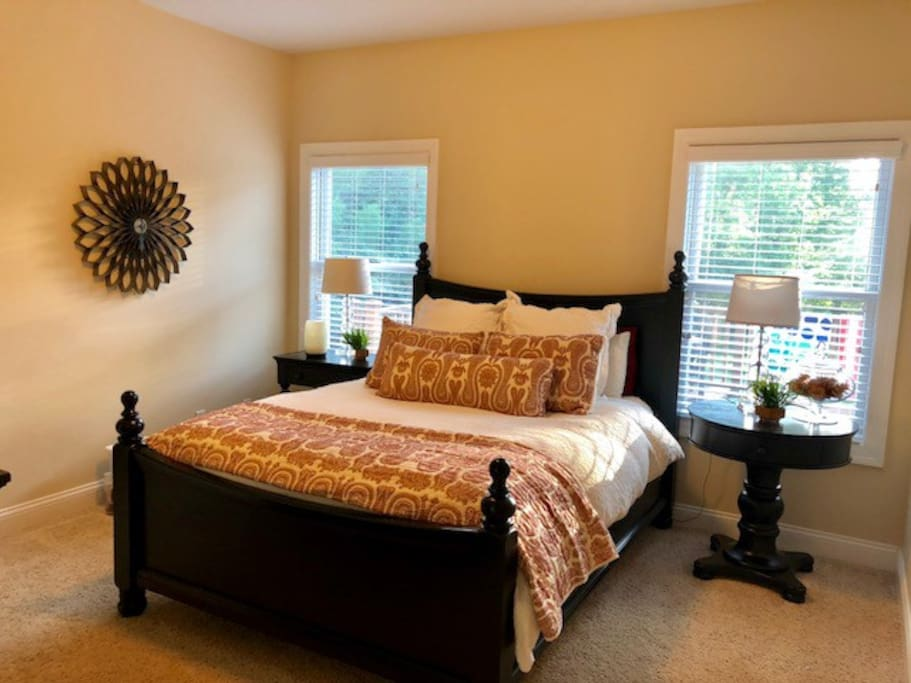 Guest Room with Queen bed and attached bath