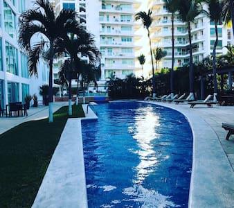 La playa más hermosa y tranquila - Nuevo Vallarta - Appartement